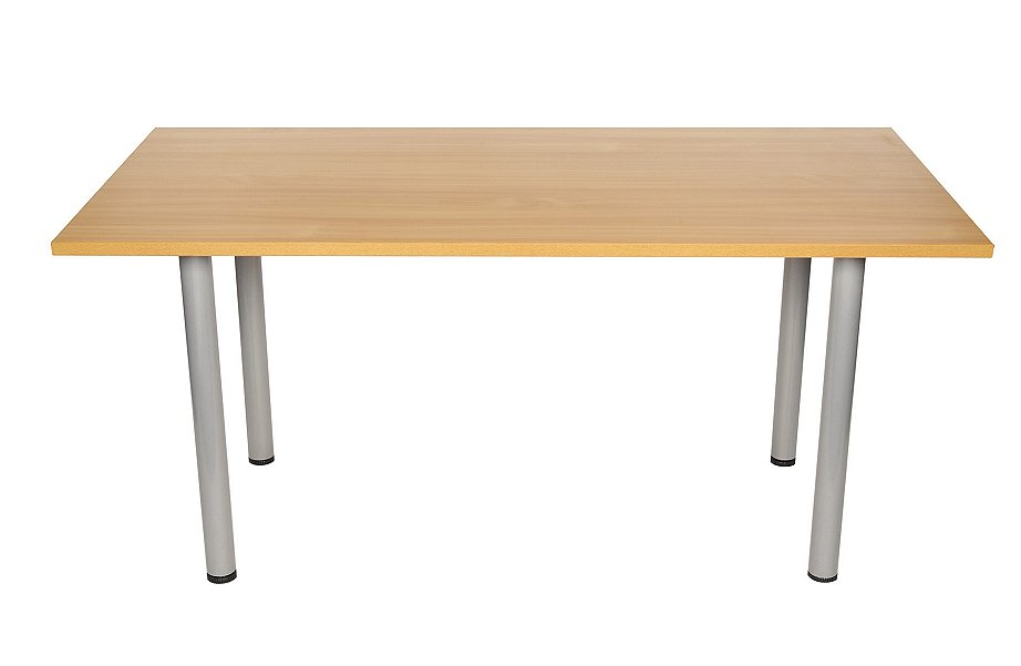 Meeting table in beech & light oak