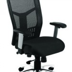 Mesh high back with headrest