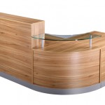 American oak reception unit