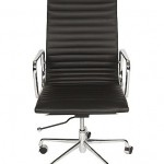 Charlie eames style high leather chair