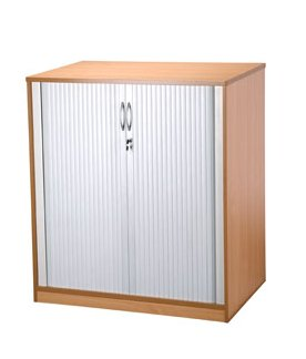 Tambour cabinet 1200 high
