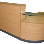 Beech reception counter