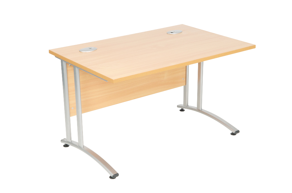 Cantilever Rectangular Desk