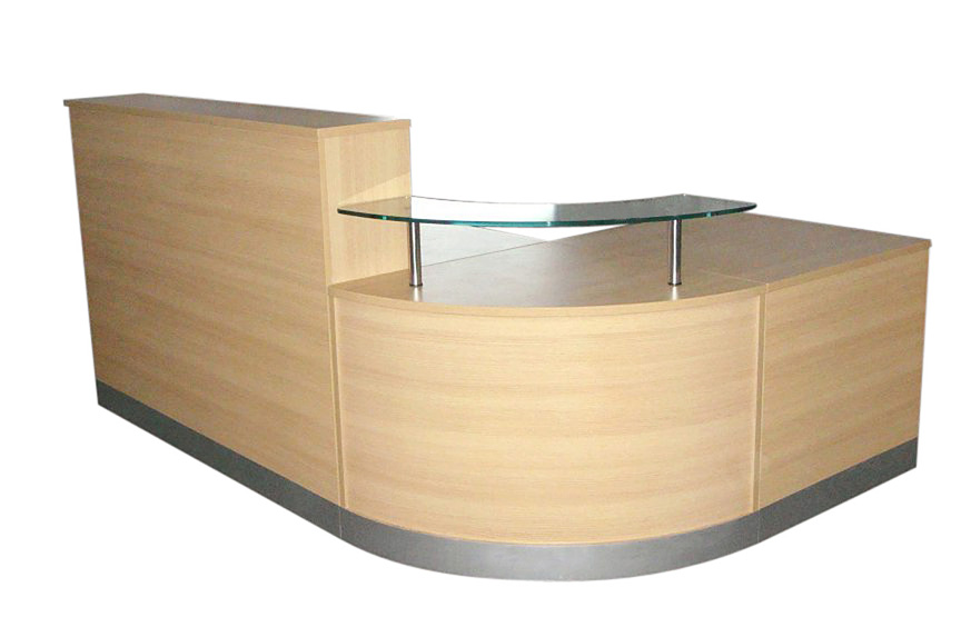 Light Oak Reception counter