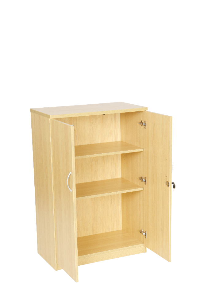 Light Oak And Beech Storage Cupboards Office Furniture Solutions 4u
