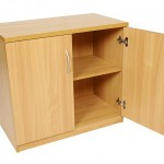beech storage cupboard 1 shelve