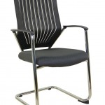 Chrome Cantilever Meeting Chair