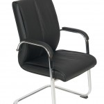 Faux leather cantilever Boardroom chair