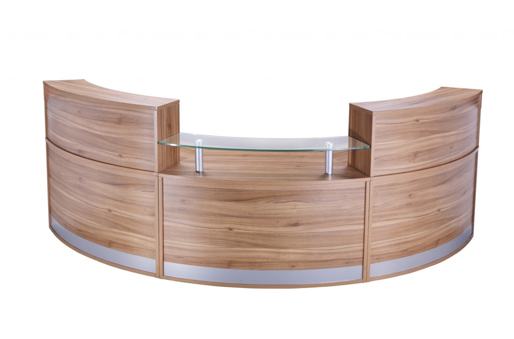 3 Section reception counter