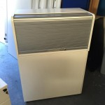 White Storage unit  tambour top