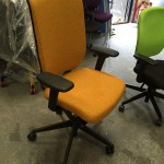 NEW Senator high back Evolve chair with arms