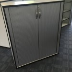 Ahrend tambour cupboard