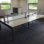 Ahrend bench desk system 6