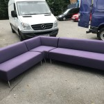 Quality reception sofa