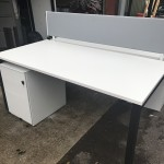Herman Miller Bench desk system