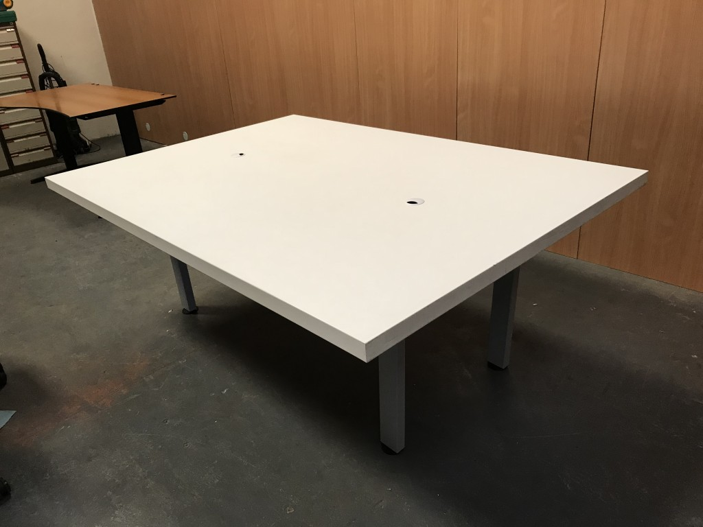 white boardroom table comms