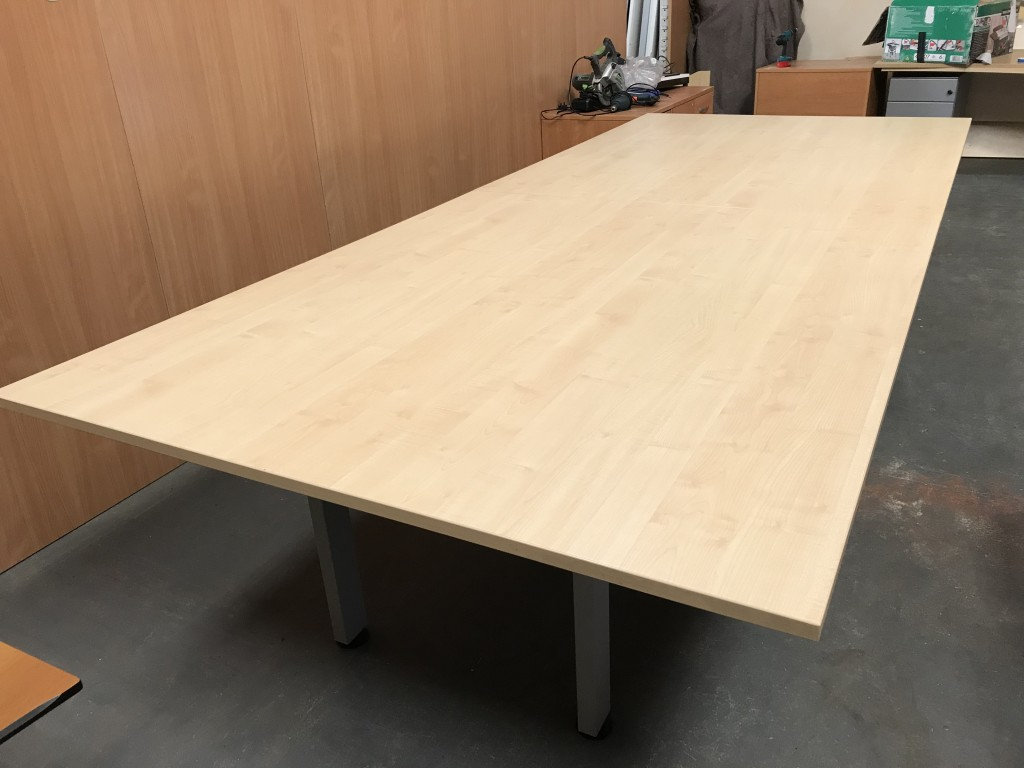 Maple Rectangular boardroom table