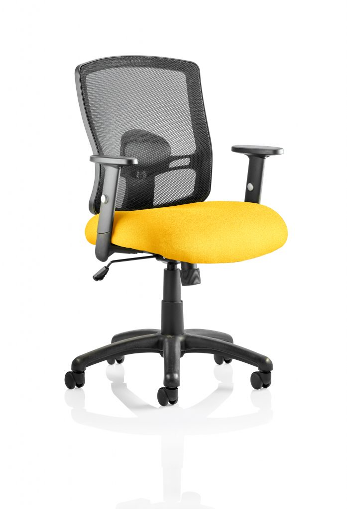 Portland chair yellow