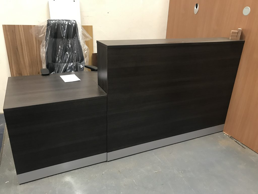 Anthracite reception unit