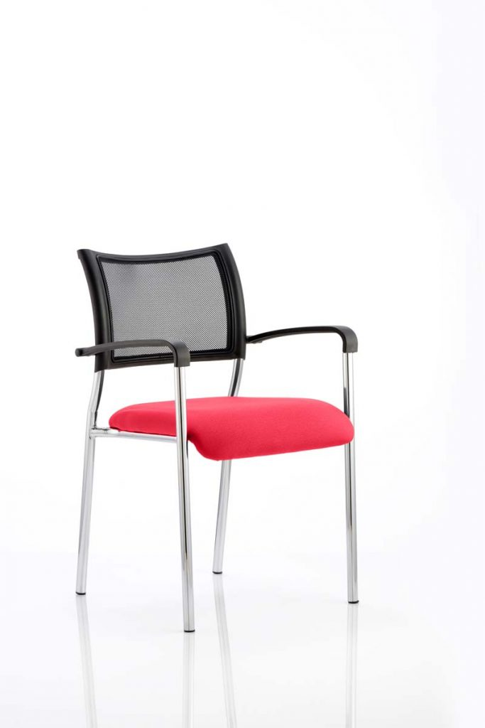Brunswick Bespoke Colour Seat Chrome Frame In Bergamot Cherry