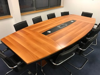Boardroom Table with comms